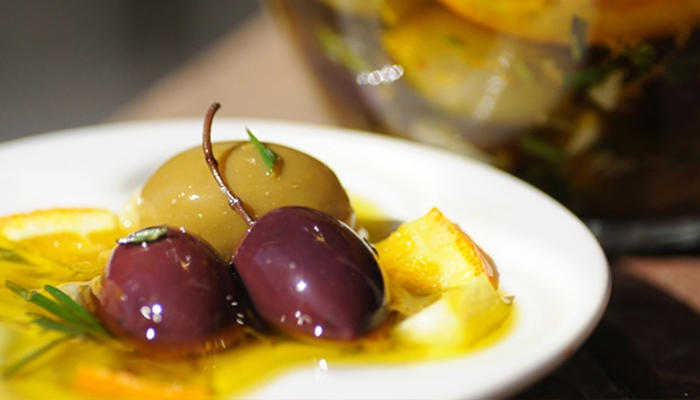 Warmed Citrus Olives